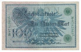 100 Reichsmarks 1908