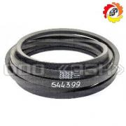 A set of belts CLAAS 6443990, 0006443990, 644399.0