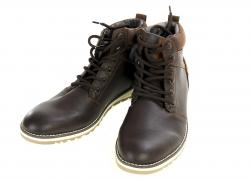 Boots, mens, brown-beige