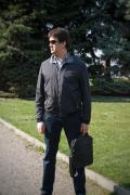 Чоловіча демісезонна куртка на блискавці Astoni Quatro