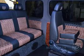Диван в микроавтобус, диван в авто, автодиван