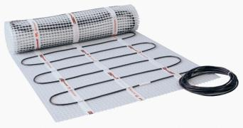 Electrical heat-insulated floor Hemstedt (Germany) Infrared heating