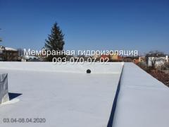 Кровля из ПВХ и ТПО мембраны в Новомосковке