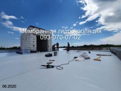 Membrane roofing in Kamenskoye