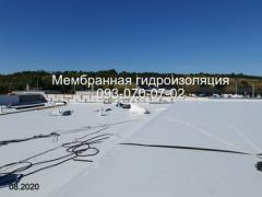 Membrane roofing, pvc and TPO membrane laying in Dnipro