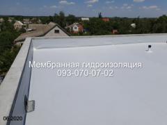 Монтаж и ремонт мембранных крыш в Першотравенске