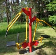 Outdoor exercise equipment from the manufacturer