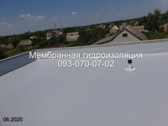 Профессиональный монтаж ПВХ мембраны в Павлограде