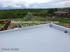 Пристрій мембранної покрівлі в Києві