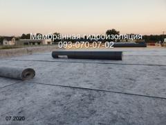 Пристрій покрівлі з полімерної мембрани (ПВХ) в Нікополі
