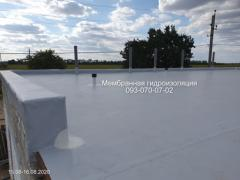 Roof repair device with PVC membrane in Bakhmut