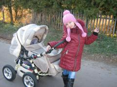 Sell stroller Victoria Gold in perfect condition