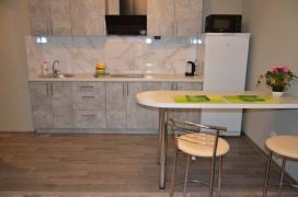 The apartment is in the heart of Kharkov, rent