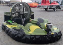 The hovercraft hovercraft Tornado F50