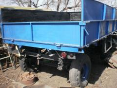 The trailer tractor 2 PTS-4 side