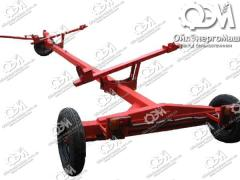 Trolley for transportation of harvesters to biaxial 9M