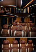 Тюнінг Внутрішній Переобладнання мікроавтобусів переробка перетяжка салону авто