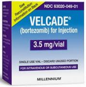 Velcade (Velcade) powder for injection 3.5 mg vial №1
