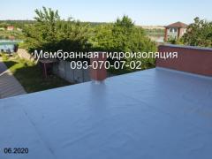 Waterproofing of terraces of balconies in Pavlograd